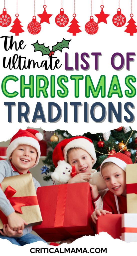 List Of Christmas Traditions