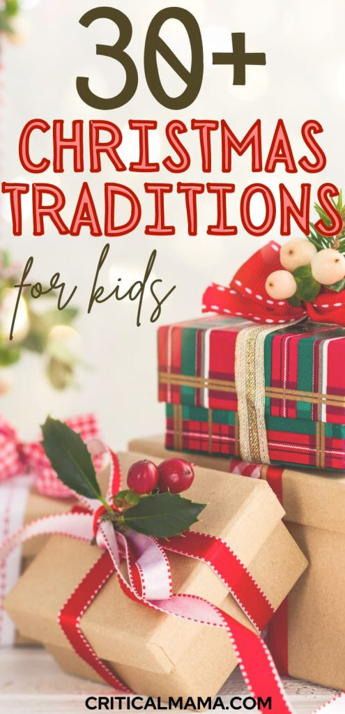 Kids Xmas Traditions