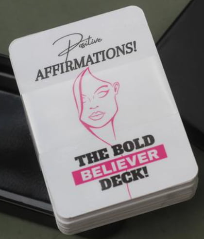 Bold Believer Self Love Affirmation Cards