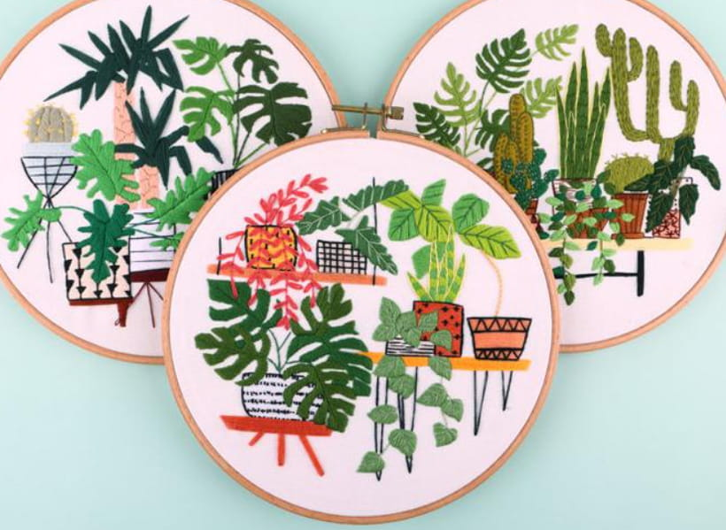 Embroidery Activity Kit For Adults