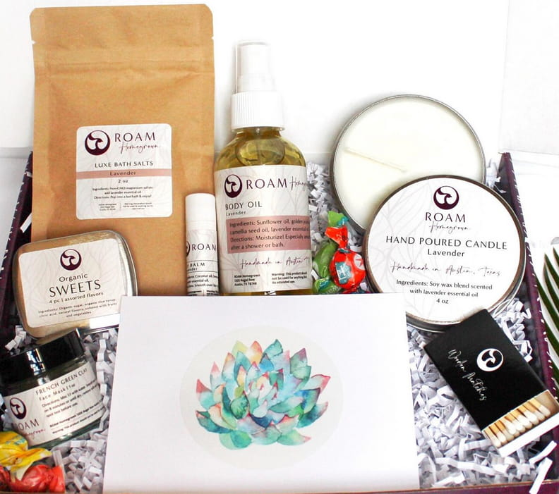 Self Care Gift Basket For New Moms