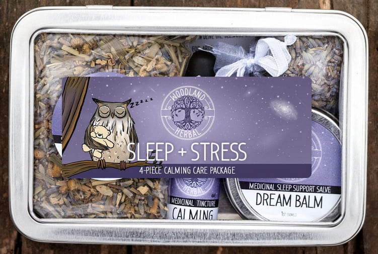 Sleep & Stress Calming Care Package For New Moms