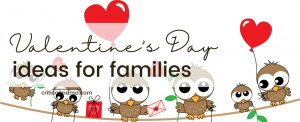 Family Valentine's Day Ideas Owl Family Heart Balloons & Gifts